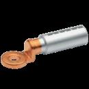 Aluminium/copper compression cable lugs and connectors