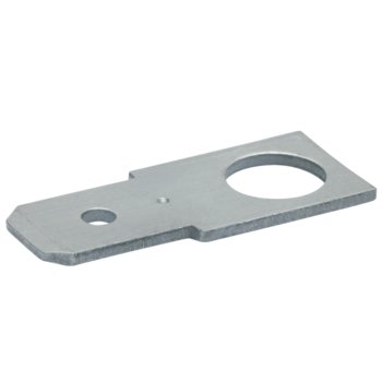 Non-insulated tabs, straight version