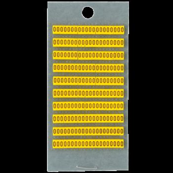 Identification rings numbers 0-9