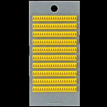 Identification rings letters A - Z