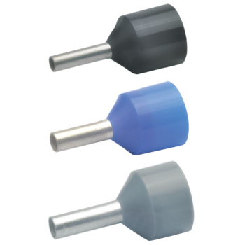Insulated cable end-sleeves for short circuit resistant conductors