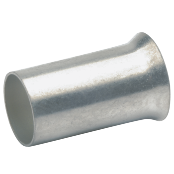 Cable end-sleeves to DIN, silver plated
