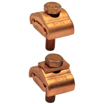 Punched cable lugs, Cu