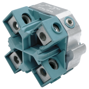 Compact tap connectors, four conductor cables, for main conductor 70 - 185 mm²