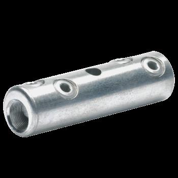 Schraubverbinder mit 4 Schrauben, mit Gewindestift, verzinnt