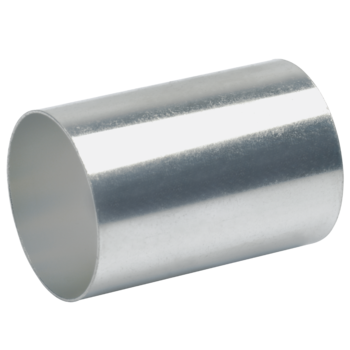 Sleeves for compacted conductors, for tubular cable lugs and connector standard type