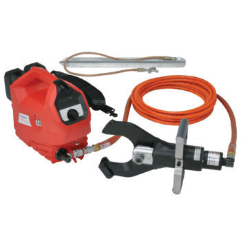 ASSG Battery powered hydraulic safety cutter to max. 120 mm dia.