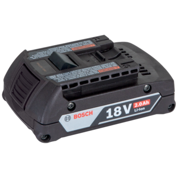 RAL B1 EU Bosch battery 18 V / 2.0 Ah, Li-Ion