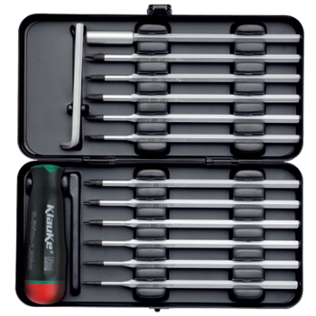 Torque-wrench set, 0.6 - 1.5 Nm