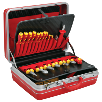 VDE Tool case, 27-piece