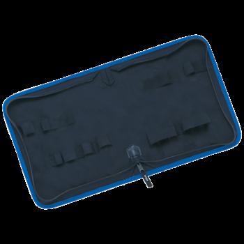 Tool wallet from nylon, empty