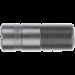 Adapter Ø 19,0 x 48 mm mit Innengewinde 9,5 mm