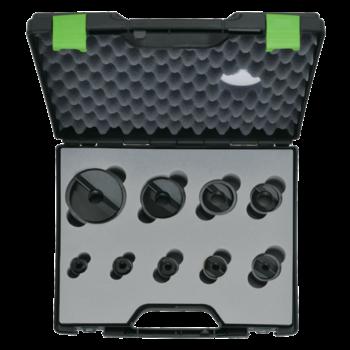 Slug Buster® Spalt-Blechlocher-Satz PG 9 - PG 48, 30,5 mm