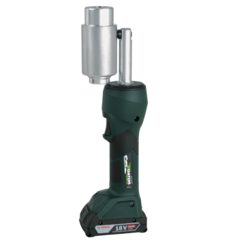 LS 50 FLEX battery powered hydraulic punching tool