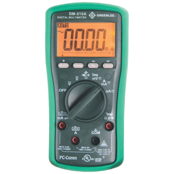 DM-210A Digital multimeter for temperature measurement -50 ˚C to +1000 ˚C