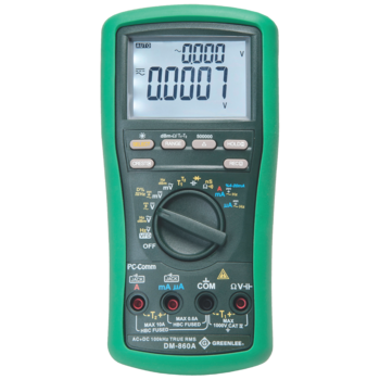 DM-860A Industrial digital multimeter, True RMS