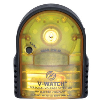 V-Watch personal voltage detector