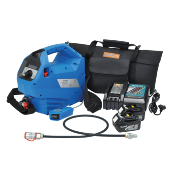 AHP700LS Battery powered pump 700 bar, to 110 mm