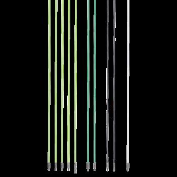 Varillas para el tendido de cables de fibra de vidrio, 10 m, 10 piezas