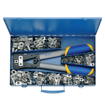 SK 65 B Assortment box from steel with tubular cable lugs and crimping tool