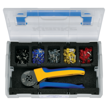 L-BOXX Mini from plastic with crimping tool and insl. cable end-sleeves 1.5 - 10 mm²