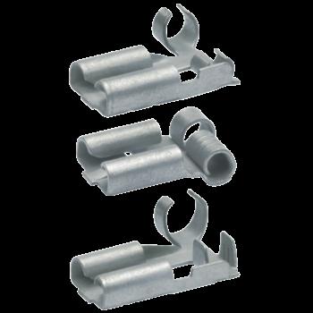 Nicht-isolierte Flachsteckhülsen mit seitlichem Leiteranschluss
