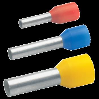 Isolierte Aderendhülse nach DIN mit Easy Entry