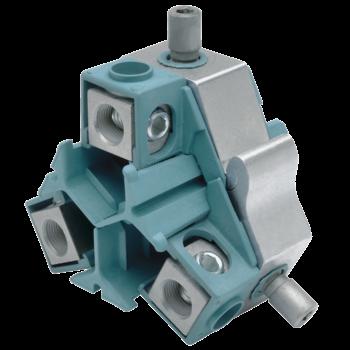 Kabelabzweig-Schraubklemmringe mit Abreißschraube, Dreileiterkabel